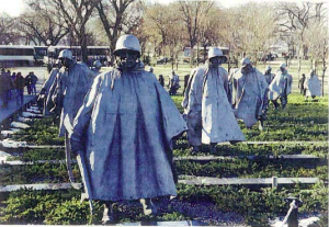 Korean War Memorial during day