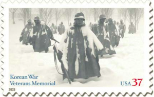 Korean War Memorial stamp